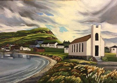 Church At Raleigh, Newfoundland | 22 x 30