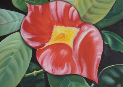 From a Tropical Garden II, 20 x 24