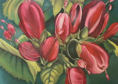 From a Tropical Garden I, 36 x 48