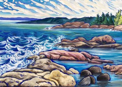Georgian Bay at Killarney | 24 x 36