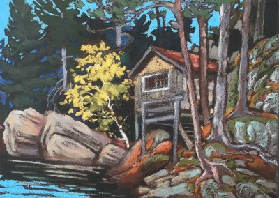 """Hamburg"" Cabin at Taylor Statton Camp, Algonquin 