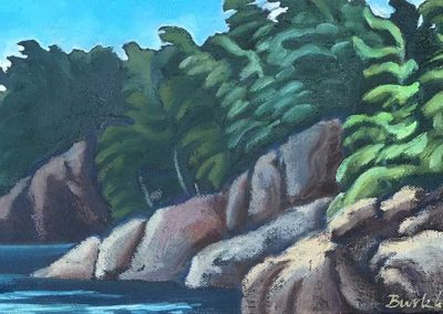 Lake Superior Shoreline | 12 x 20
