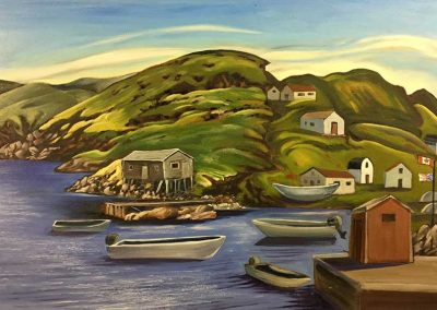 Little Brehat, Newfoundland | 22 x 32