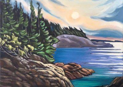 Newfoundland Shoreline | 16 x 20