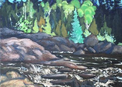 Rapids, North of Superior | 11 x 14