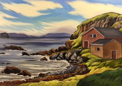 Whales' Playground, Cape Onion, Newfoundland | 22 x 32